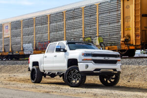 M07 Off-Road Monster Wheels 24x12 | Chevrolet Silverado