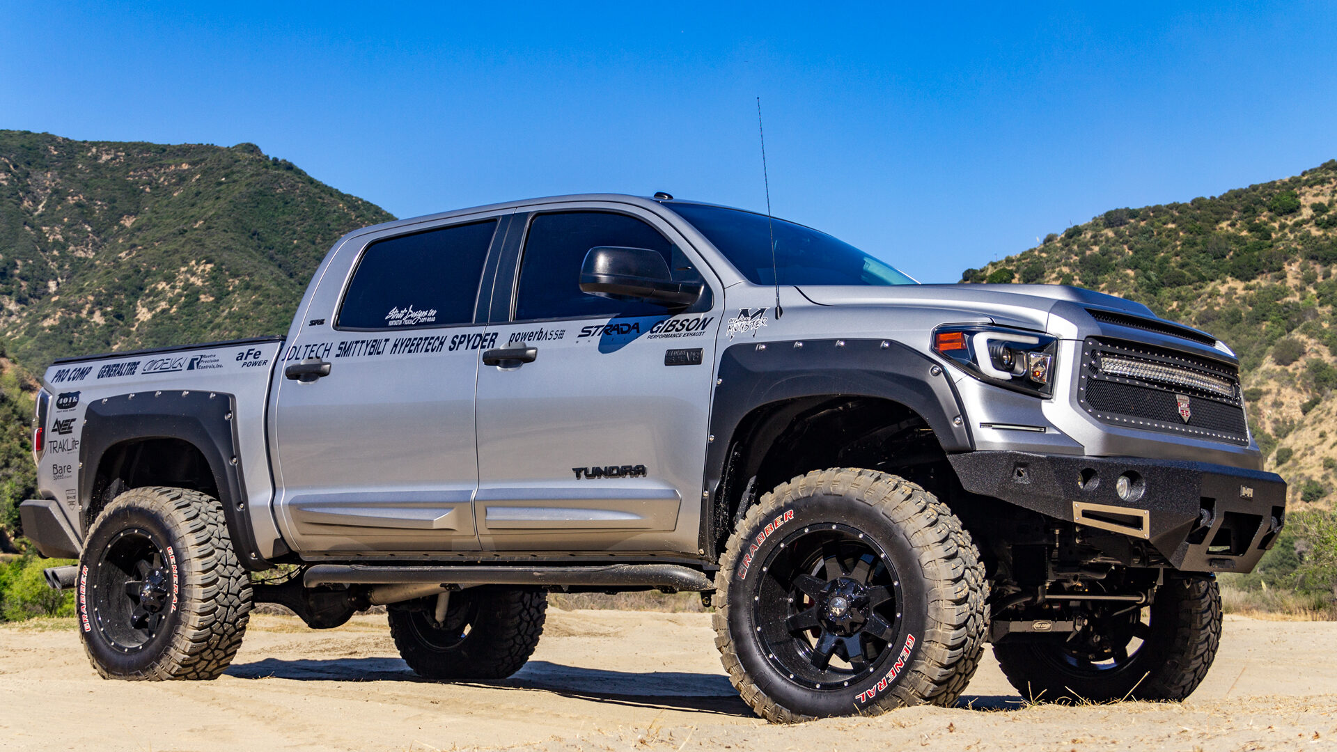M08 Off-Road Monster Wheels 20x12 | Toyota Tundra