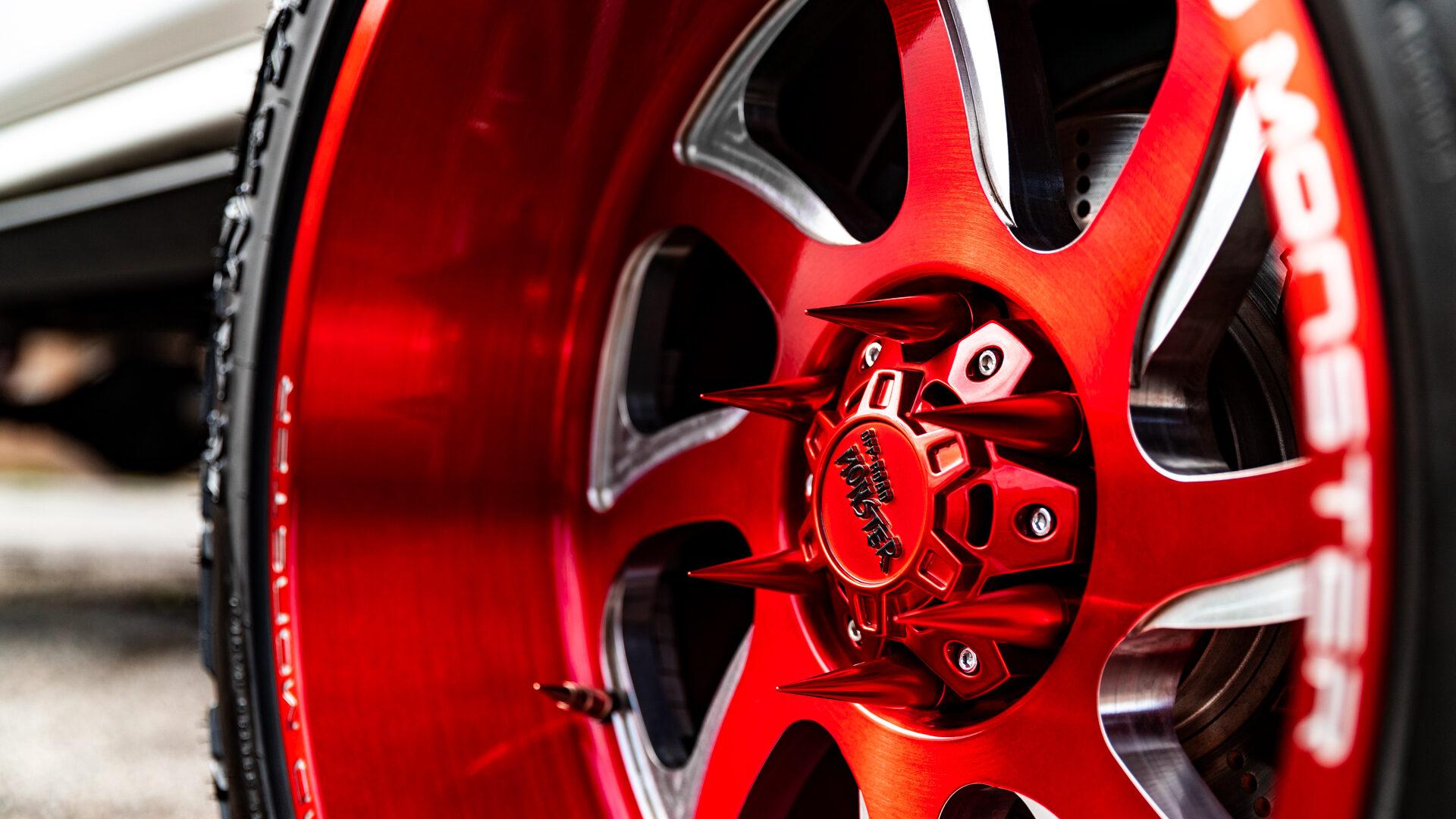 M22 Off-Road Monster Wheels 22x12 | Chevrolet Silverado
