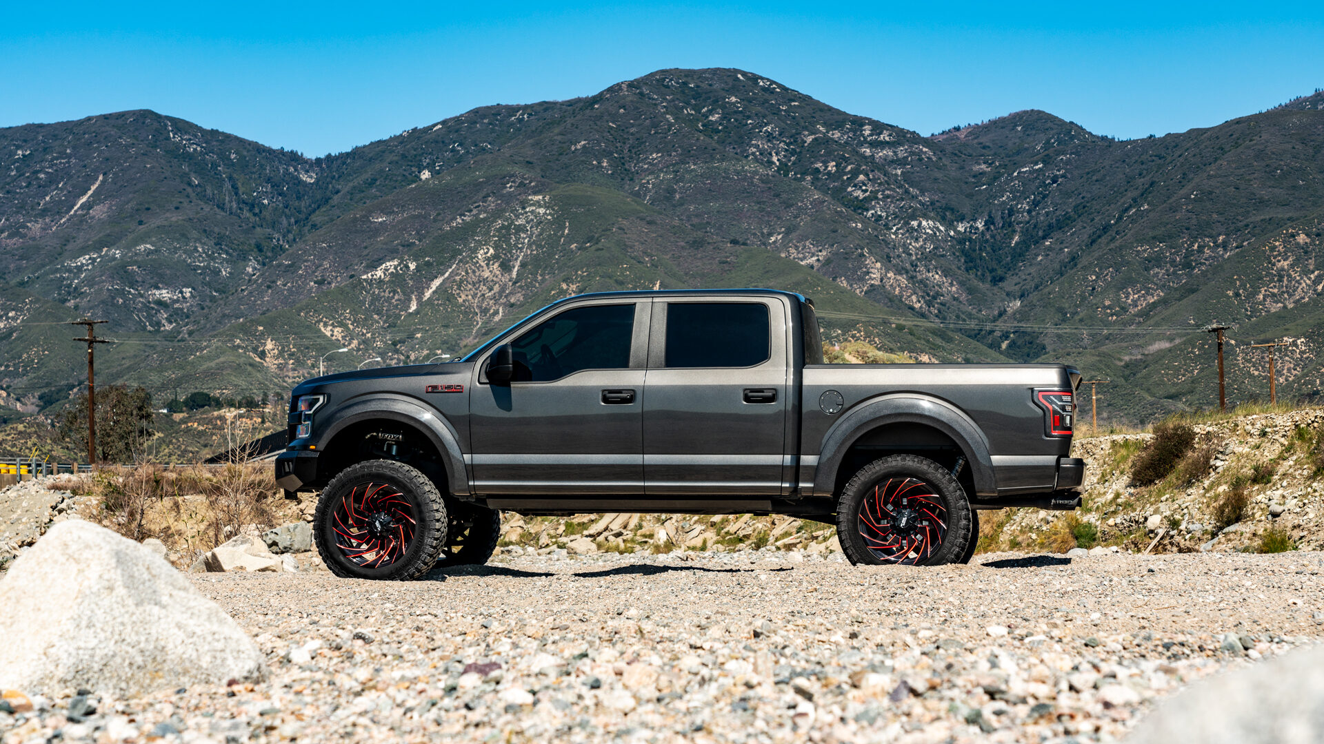 M24 Off-Road Monster Wheels 22x12 | Ford F150