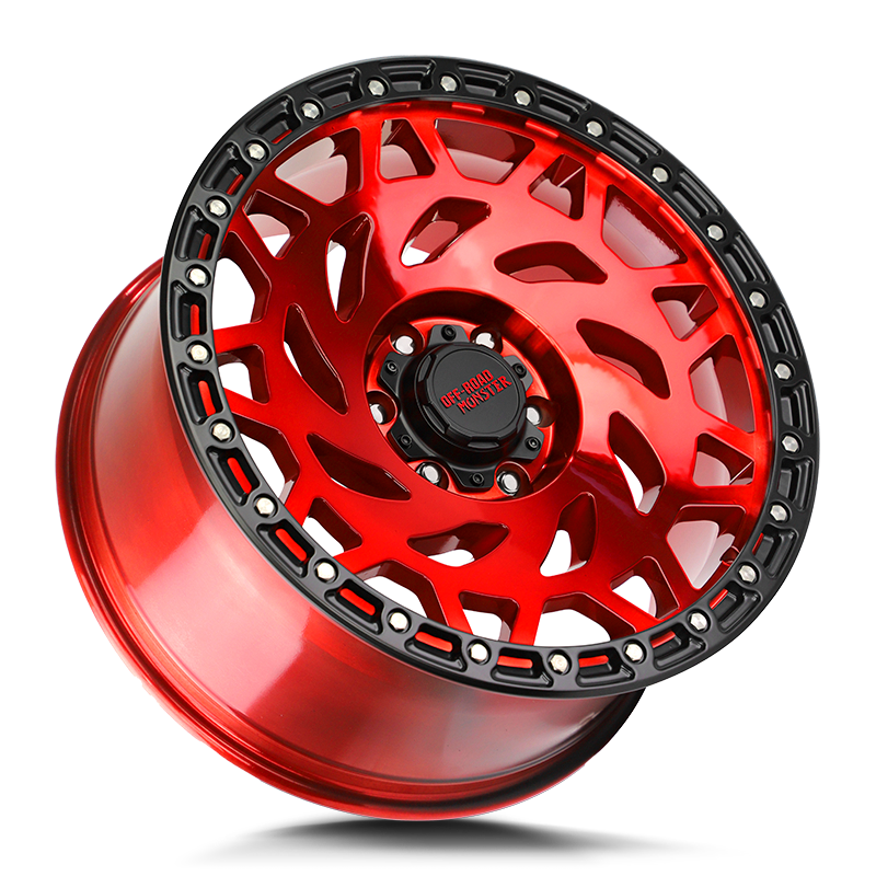 Off-Road Monster M50 Wheel - Candy Red