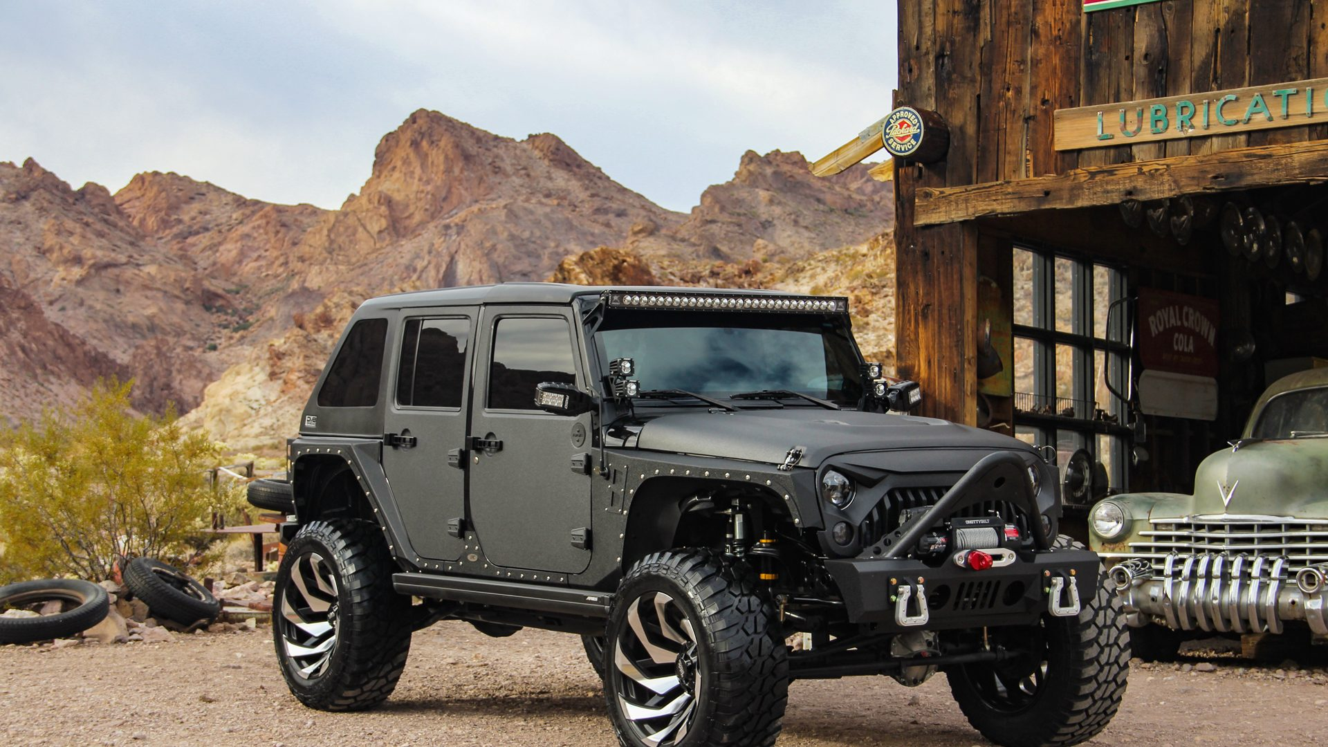 M24 Off-Road Monster Wheels on a Jeep JK