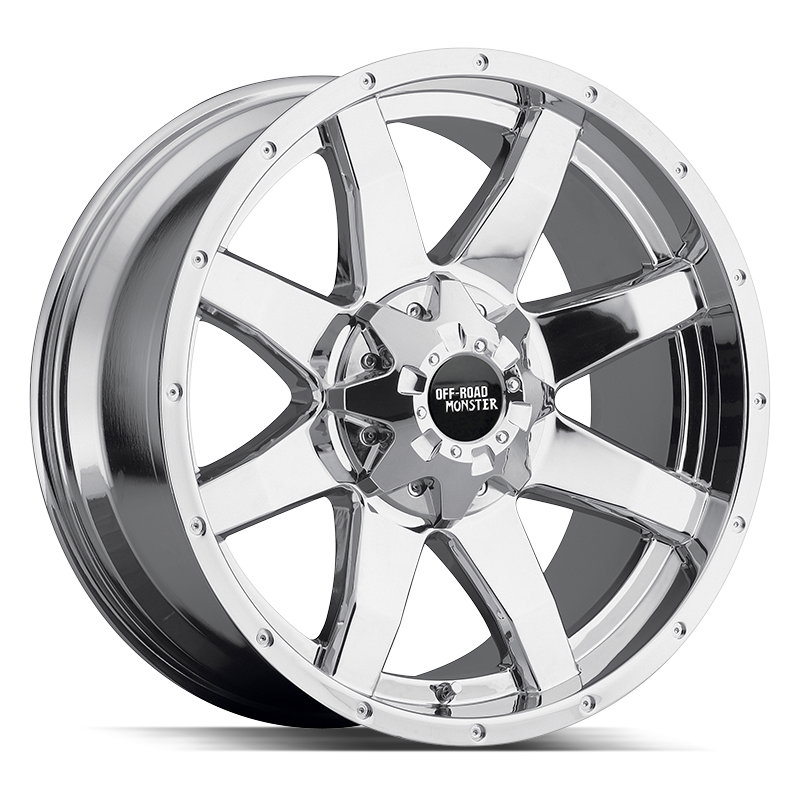 The M08 Wheel by Off Road Monster in Chrome