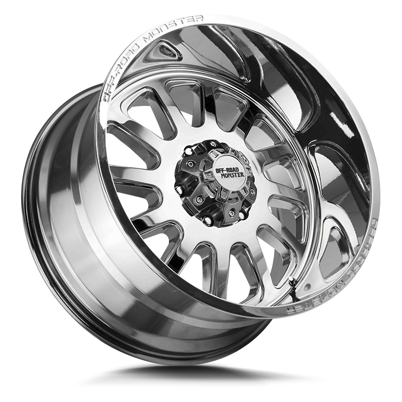 The M17 Wheel by Off Road Monster in Chrome