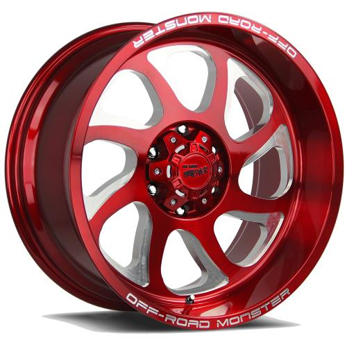 M22 20X10 CANDY RED MILLED
