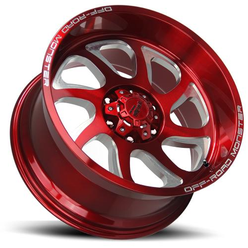M22 20X10 CANDY RED MILLED LAY