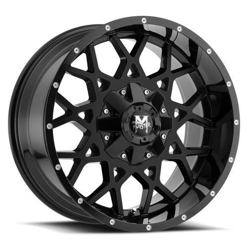 MonsterOffroad M14 20x10 gloss black 1000x1000