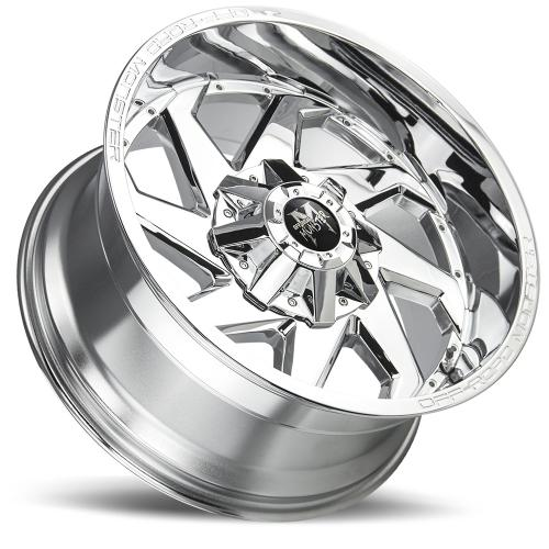 M09 20X10 Brushed Face Chrome Lay