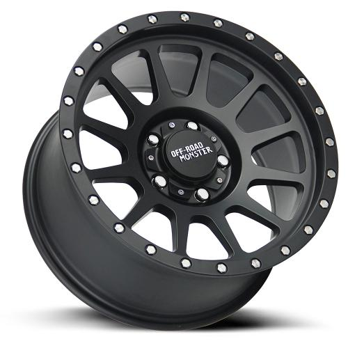 OFF ROAD MONSTER M10 FLAT BLACK LAY LOW RES