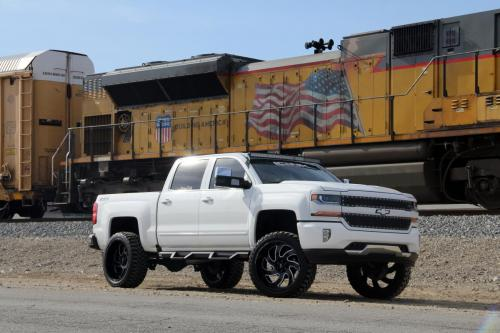 off road monster orm m07 silverado white 24x12 black milled