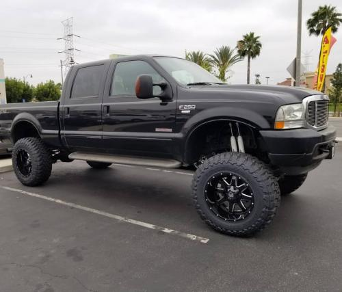 off road monster orm m08 20x12 gloss black milled f250