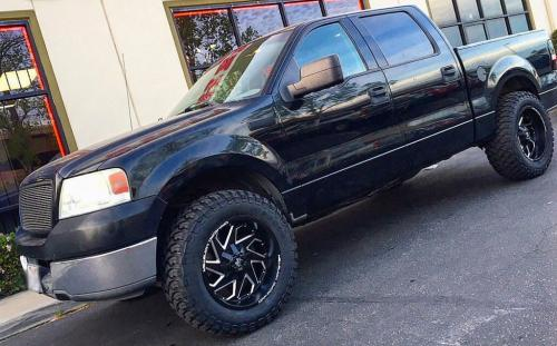 off road monster orm m09 gloss black milled 20x10 black f150