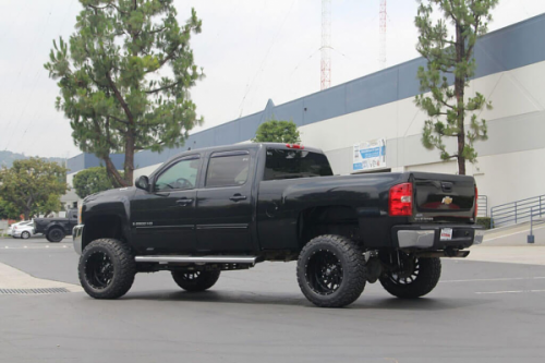 off road monster orm m12 20x12 silverado all gloss black