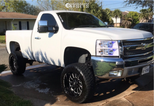 off road monster orm m17 silverado 20x10 black milled